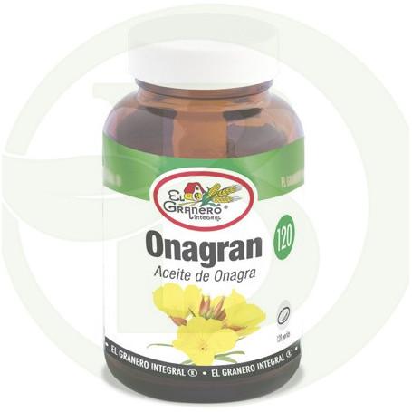 Onagran (Aceite de Onagra) 120 Perlas El Granero