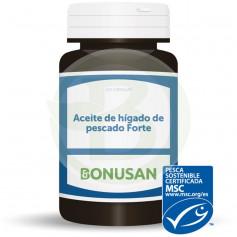 Aceite de Hígado de Pescado 120 Cápsulas Bonusan