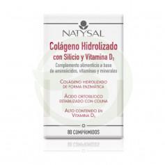 Colágeno con Silicio y Vitamina D 80 Comprimidos Natysal