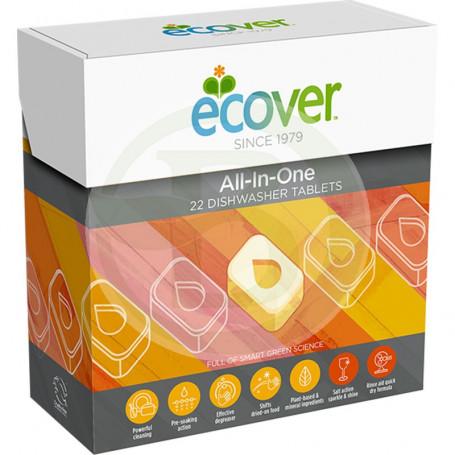 Lavavajillas Tabletas Todo en Uno 500Gr. Ecover