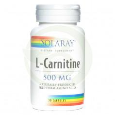 L-Carnitine 500Mg. 30 Cápsulas Solaray