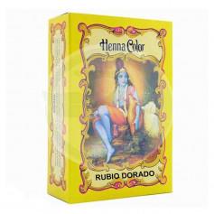 Henna Polvo Rubio Dorado Radhe Shyam