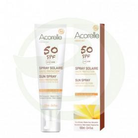 Spray Solar Cara y Cuerpo SPF50 100Ml. Acorelle