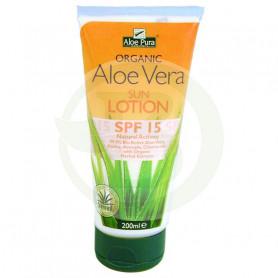 Prtector Solar SPF15 200Ml. Aloe Pura