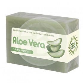 Jabón de Aloe Vera 100Gr. Sol Natural
