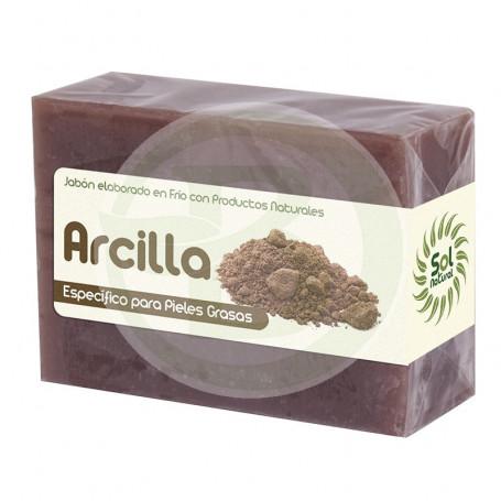 Jabón de Arcilla 100Gr. Sol Natural