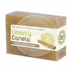 Jabón de Limón y Canela 100Gr. Sol Natural