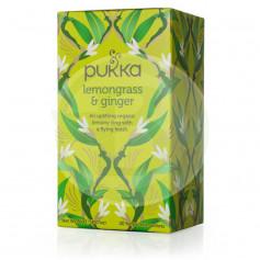 Infusión Jengibre con Lemongrass 20 Filtros Pukka