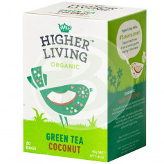Té Verde con Coco 40Gr. Higher Living