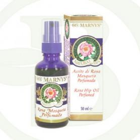 Aceite Puro de Rosa Mosqueta Facial Perfumado Marnys