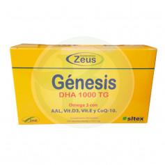 Génesis Omega 3 DHA 1000Mg 120 Cápsulas Zeus