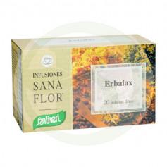 Sanaflor Erbalax 20 Filtros Santiveri
