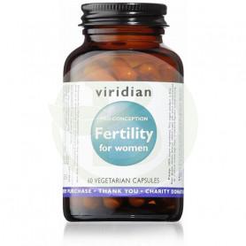 Fertility para Mujeres 60 Cápsulas Viridian