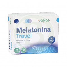 Melatonina Travel 15 Comprimidos Sakai