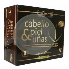 Cabello, Piel y Uñas 60 Cápsulas Pinisan