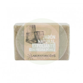 Jabón Natural Exfoliante con Piedra Pomez 100Gr. Sys