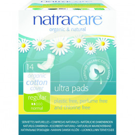 Compresa con Alas Regular Natracare