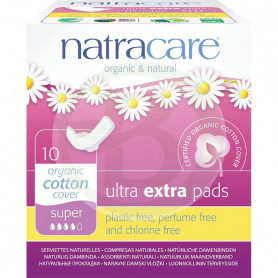Compresa Ultra Extra Normal Alas Natracare
