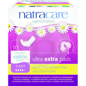 Compresa Ultra Extra Super-Alas Natracare