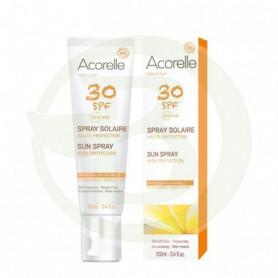 Spray Solar Cara y Cuerpo SPF30 Bio 100Ml. Acorelle