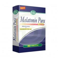 Melatonina Pura Active Con Valeriana 30 Tabletas ESI - Trepat Diet