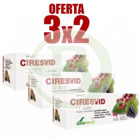 Pack 3x2 Ciresvid 14 Viales Soria Natural
