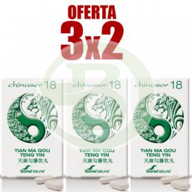 Pack 3x2 Chinasor 18 Soria Natural