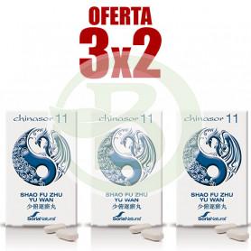 Pack 3x2 Chinasor 11 Soria Natural