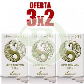 Pack 3x2 Chinasor 26 Soria Natural