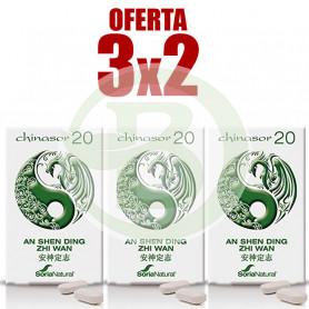 Pack 3x2 Chinasor 20 Soria Natural