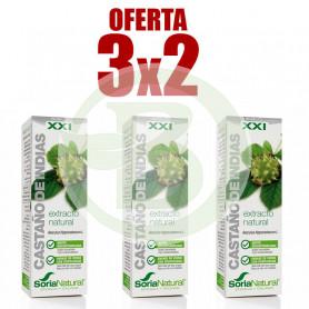 Pack 3x2 Extracto de Castaño de Indias 50Ml. Soria Natural