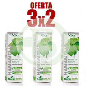 Pack 3x2 Extracto de Hamamelis 50Ml. Soria Natural