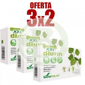 Pack 3x2 Diurín 30 Cápsulas Soria Natural