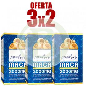 Pack 3x2 Maca 60 Cápsulas Estado Puro