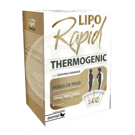 Liporapid Thermogenic 30 Cápsulas Dietmed