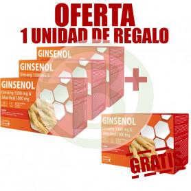 Pack 4x3 Ginsenol 20 Ampollas Dietmed