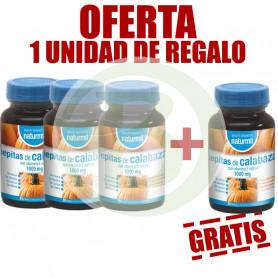 Pack 4x3 Pepitas de Calabaza 30 Perlas Naturmil