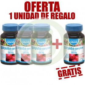 Pack 4x3 Gayuba Complex 90 Comprimidos Naturmil