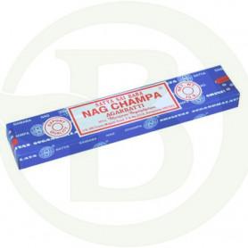 Incienso Nag Champa Sai Baba Azul Sticks