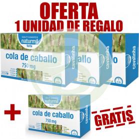 Pack 4x3 Cola de Caballo 20 Ampollas Naturmil