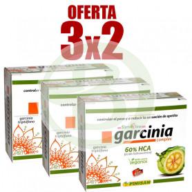 Pack 3x2 Garcinia Complex 60 Cápsulas Pinisan