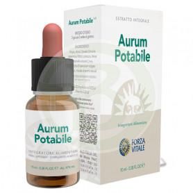 Aurum Potabile 10Ml. (Oro) Forza Vitale