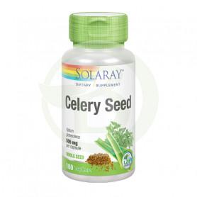 Celery Seed (Apio) 100 Cápsulas Solaray