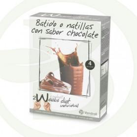Batido o Natillas de Chocolate 2 Weeks Diet Venpharma
