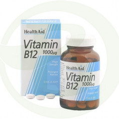 Vitamina B12 50 Comprimidos Health Aid