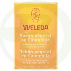 Jabón Vegetal de Caléndula 100Gr. Weleda