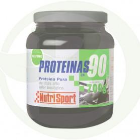 Proteínas 90% 700Gr. Sabor Neutro Nutrisport