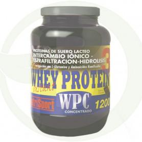 Whey Protein 3 WPC Concentrado Chocolate 1200Gr. Nutrisport