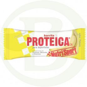 Barrita Proteica de Plátano Nutrisport