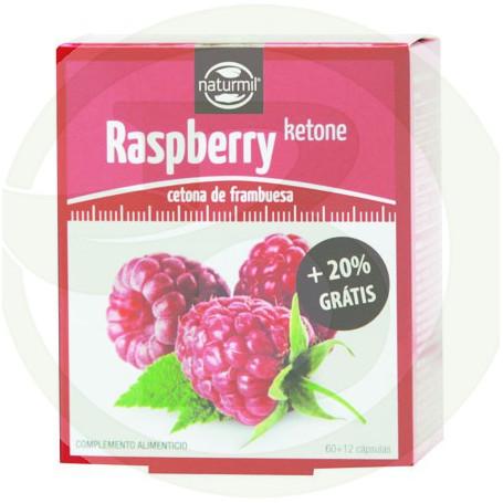 Raspberry Ketone Cetona de Frambuesa 60 12 Cápsulas Naturmil